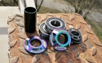 Каретка BMX Colony Mid-Rainbow 19mm